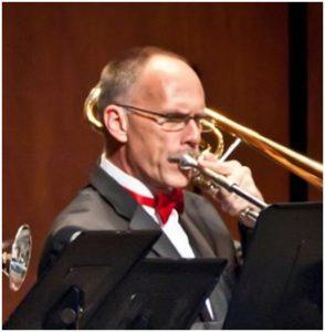 Greg Lamy, trombone