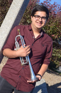 Richard Gonzalez, trumpet