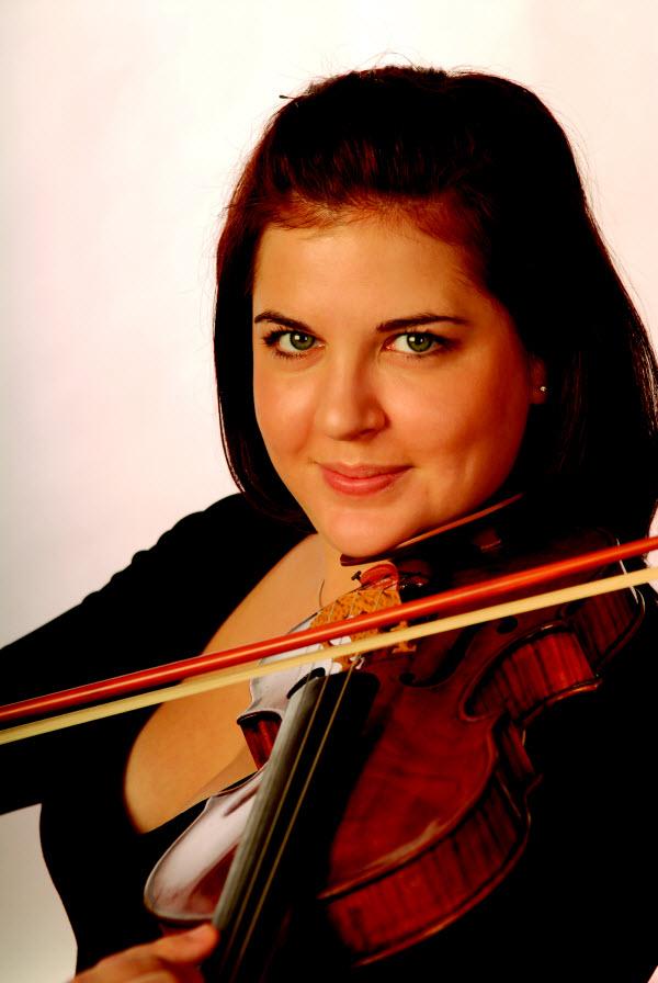 Jessica Linnebach, violin