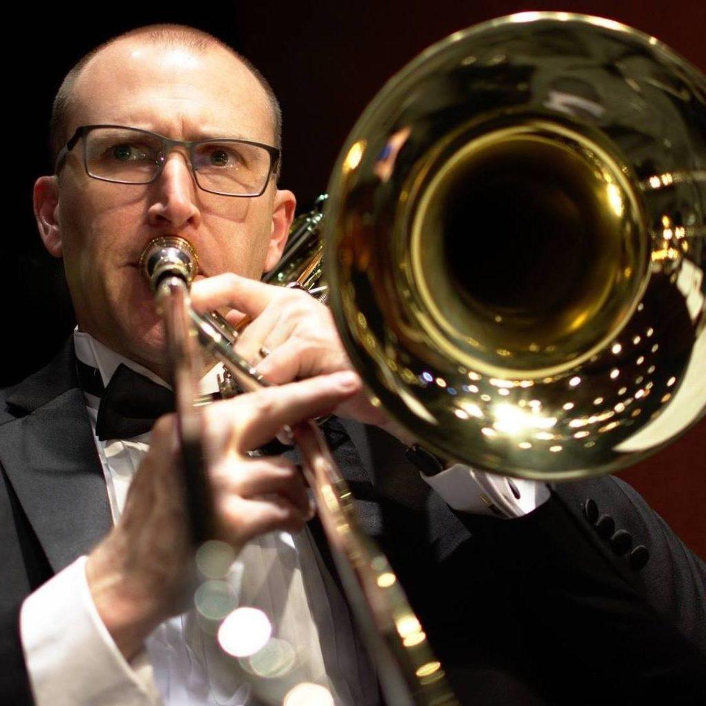 Mike Isom, trombone